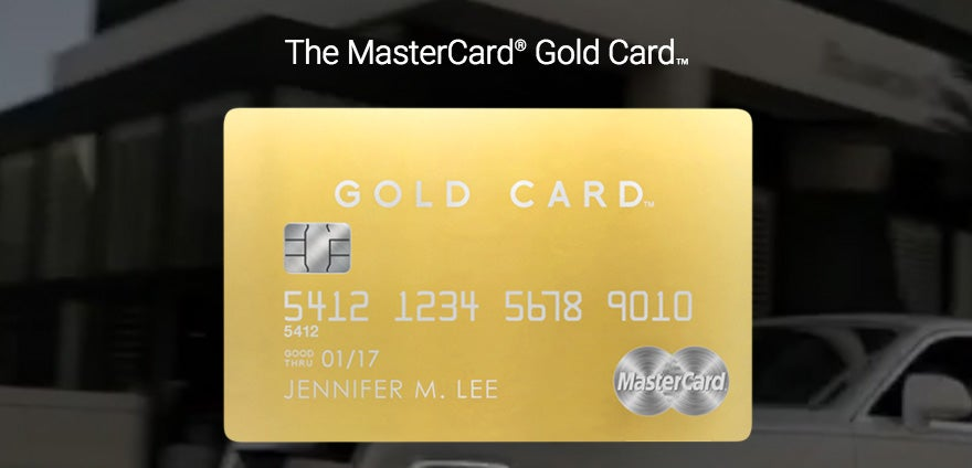 gold card featured