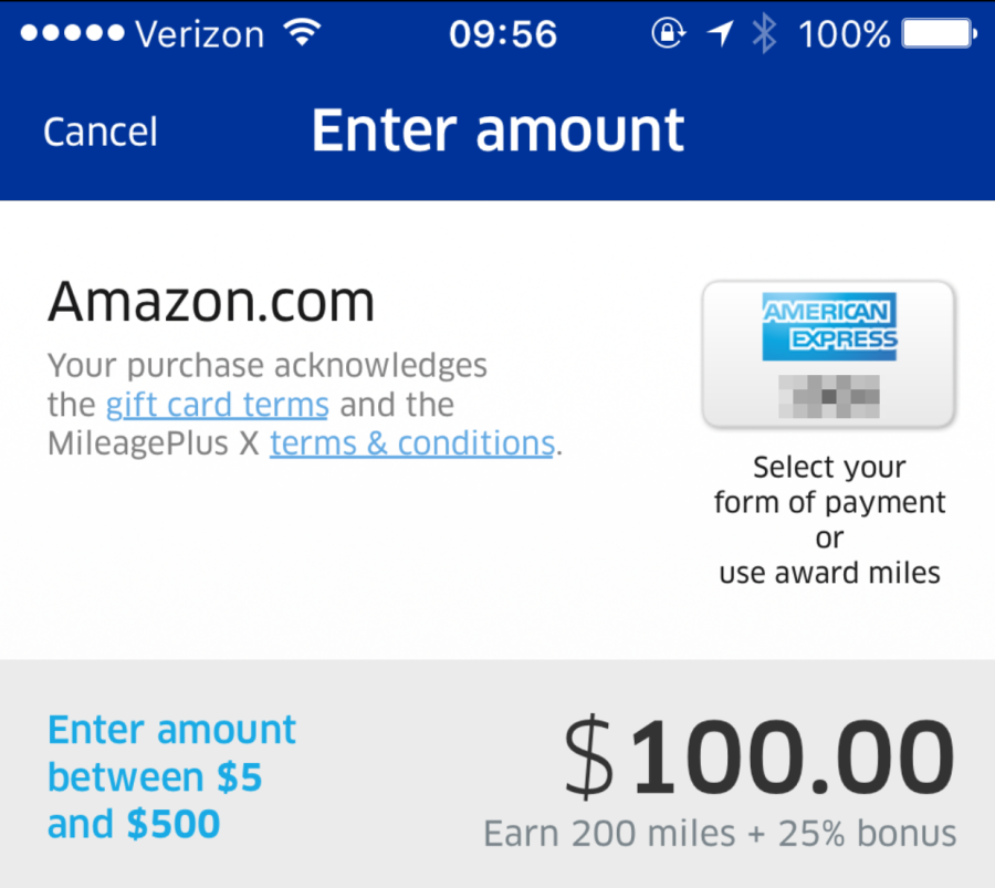 Redeem Amex Airline Fee Credits For Amazon Gift Cards