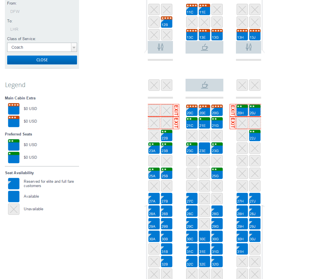 A beginner 39 s guide to choosing seats on american airlines for American airlines plane types