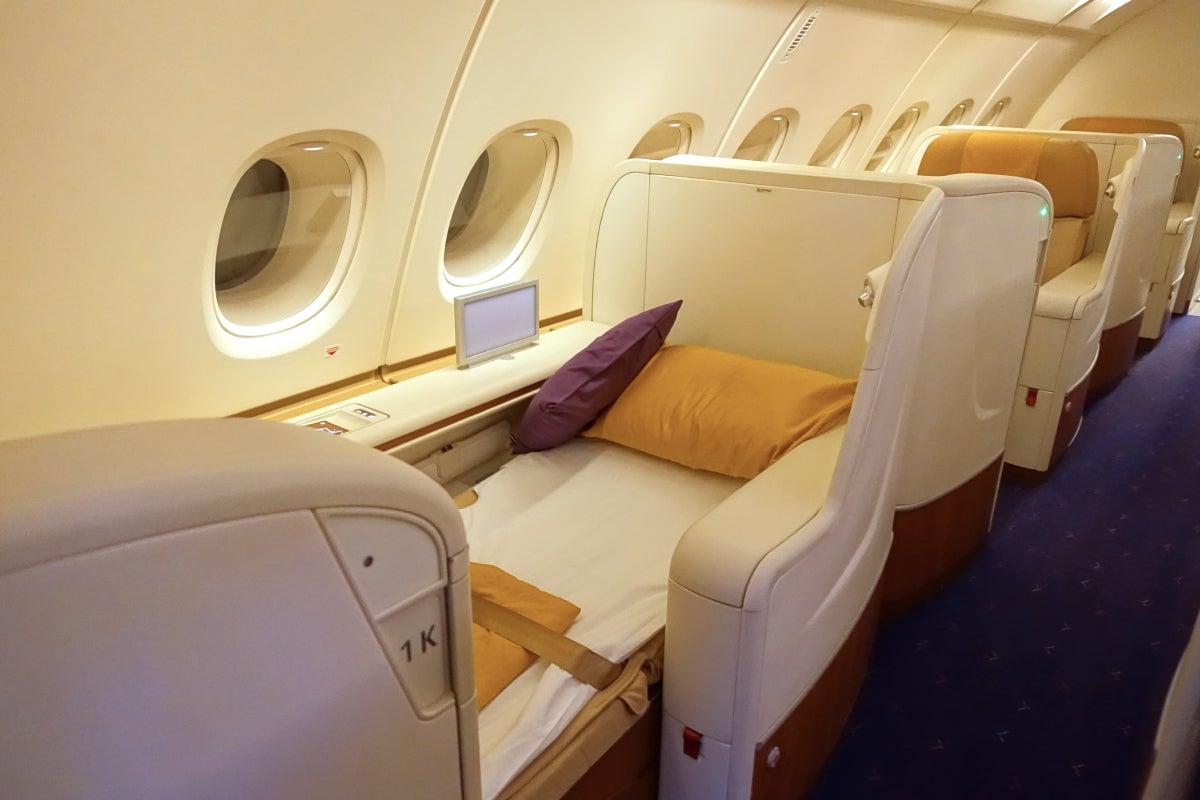 Thai A380 First Class Review Bangkok To Paris