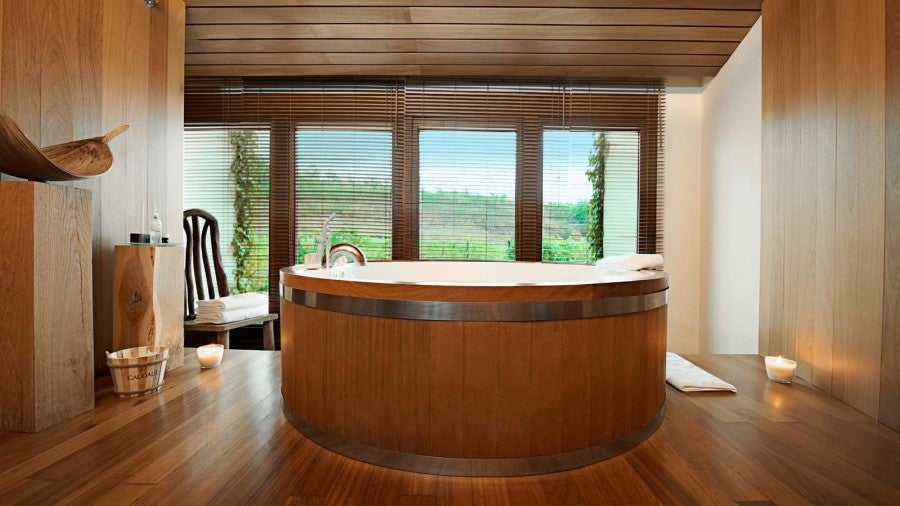 Who Wants To Bathe In A Wine Barrel Tub