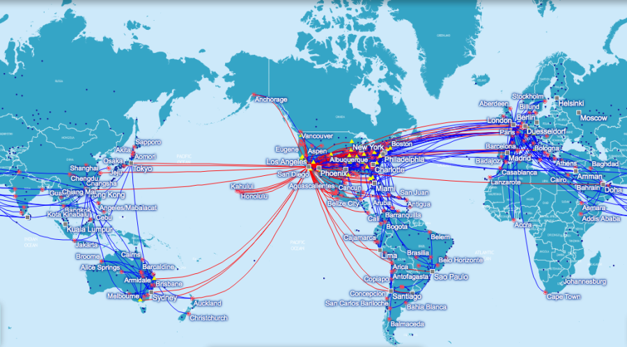 Up ing American Airlines Award Chart Region Changes