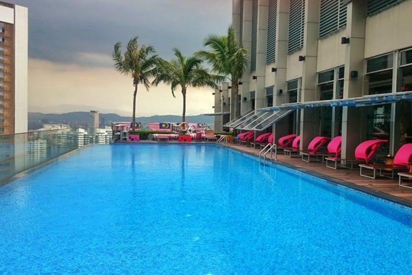 The Aloft Kl Sentral Rooftop Pool Pre 2016 Typhoon Season Image By