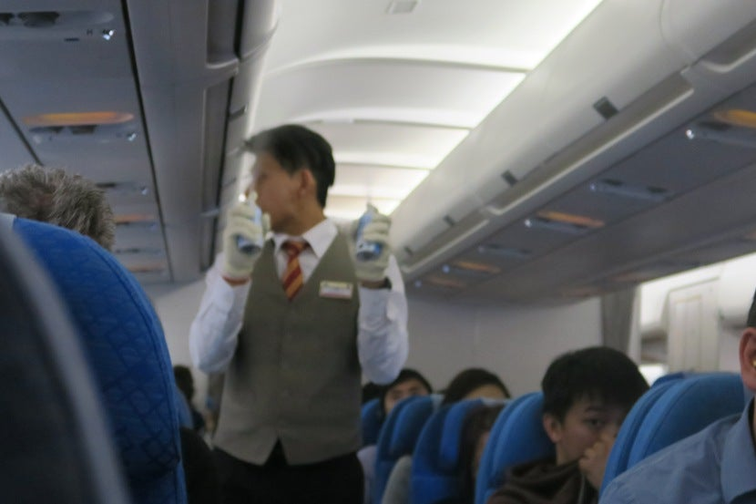 The Cabin Crew Sprayed Right Before Landing In KUL
