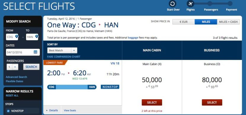 You Can Use Delta Miles To Book An Award On Vietnam Airlines