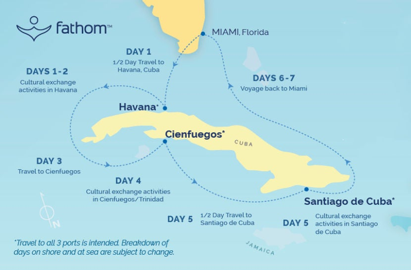 Review Fathoms Cruise From Miami To Cuba - Cuban cruises