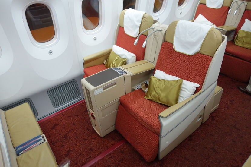 air india business class review 787