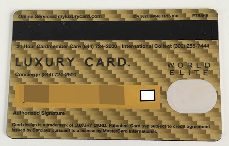 Perks and problems with the mastercard gold card the back of the card has a peculiar design and just does not feel like reheart Choice Image