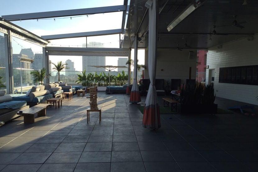 Andaz San Diego Room Service Menu
