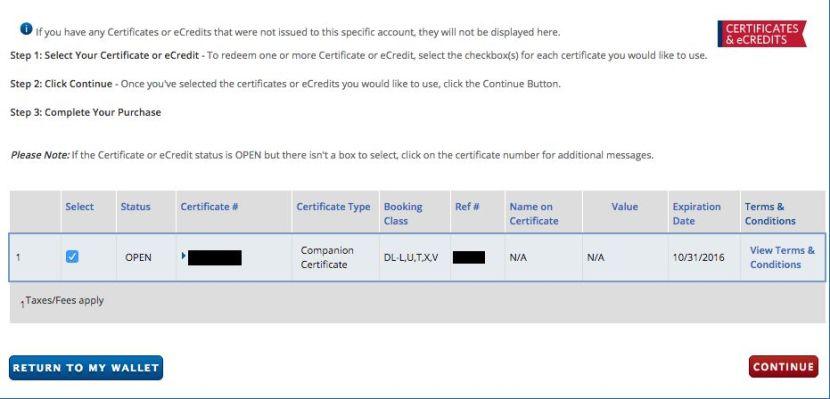 Maximizing The Platinum Delta Amex Companion Certificate