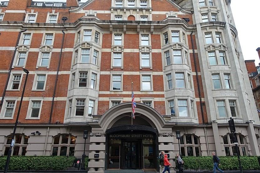 Review The Radisson Blu Edwardian Bloomsbury Street Hotel