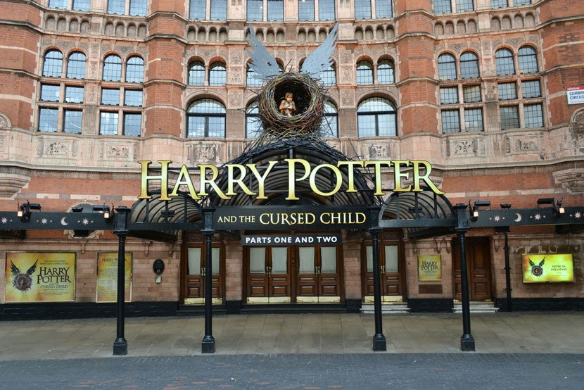harry potter universe london