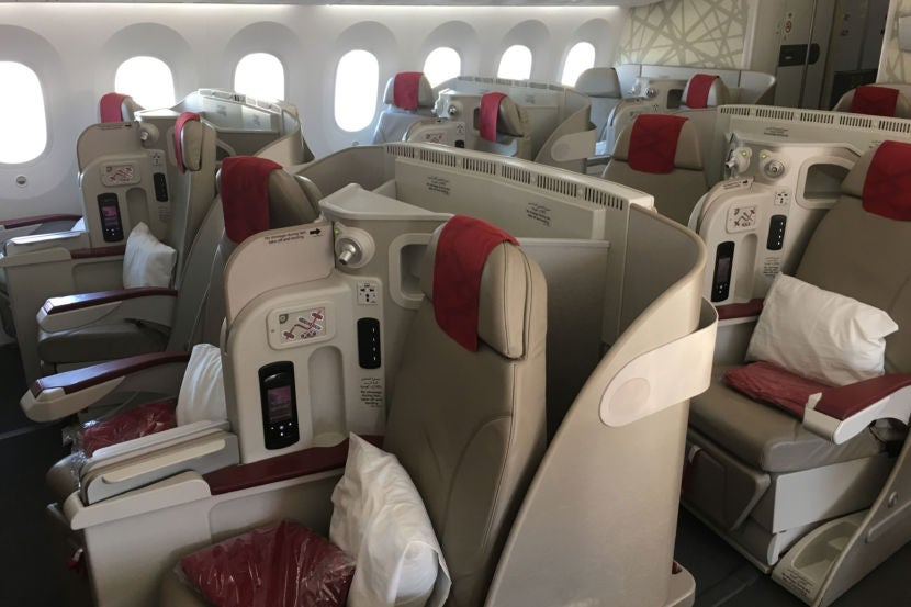 Review: Royal Air Maroc 787 Business, New York to Casablanca