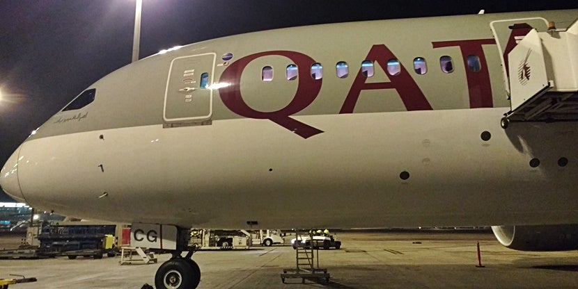 Review qatar airways 787 8 dreamliner from doha to madrid for Oficina qatar airways madrid