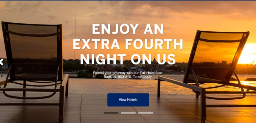 Fourth Night Free At Select Hotels Through Amex Travel