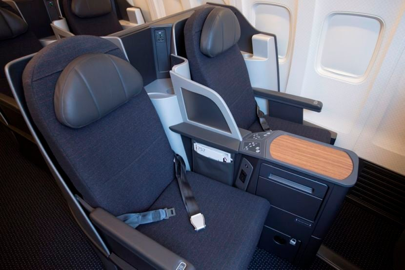 Americans Retrofitted 757 Business Class Seats Are Fine For Shorter Flights Image Courtesy Of American Airlines