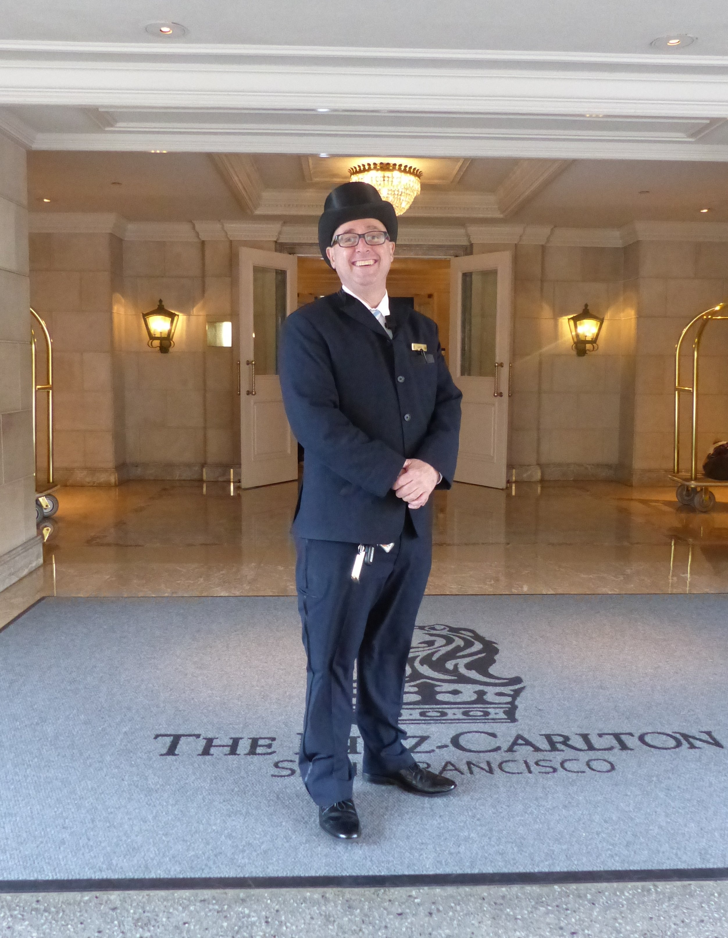 img sf ritz top hat Hotel Review The Ritz Carlton San Francisco