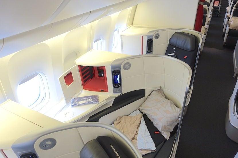 Review Air France 777 300er Business Class La To Paris