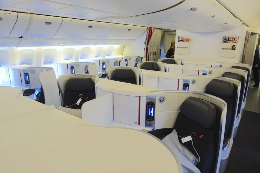 The Smaller Of Two Business Cl Cabins