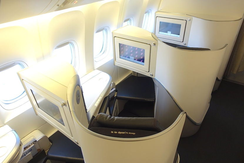 Review Air France 777 300er Business Class La To Paris