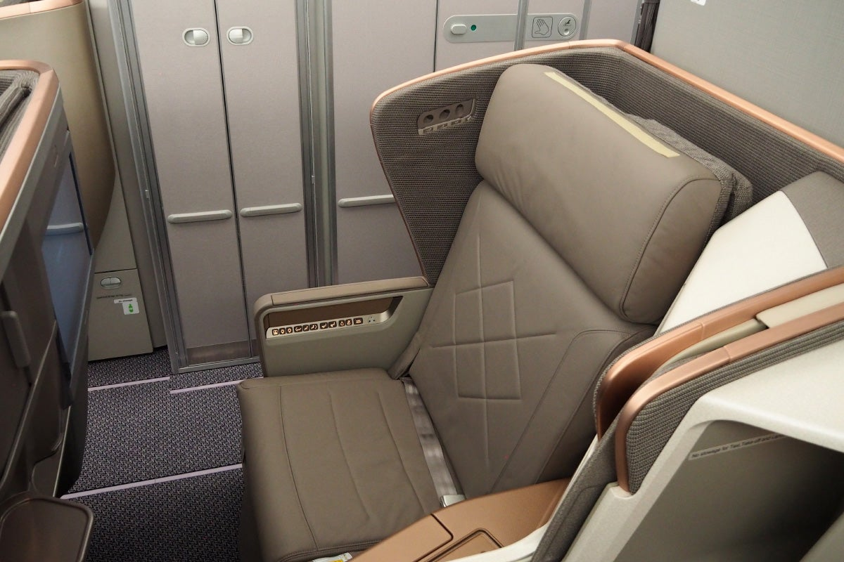 Image result for a350 business class toilet singapore airlines