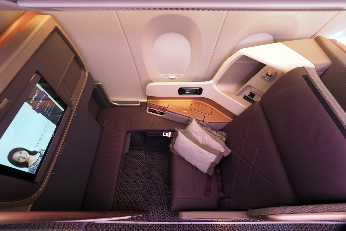 Where to Sit in Singapore Airlines\' A350: Business Class