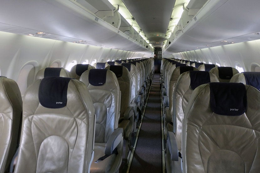 Review Porter Airlines Economy From Newark To Toronto