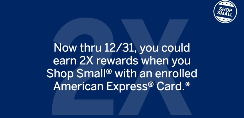 Amex cardholders earn 2x rewards at small businesses earn 2x rewards when you shop at eligible small businesses with an enrolled amex card now colourmoves