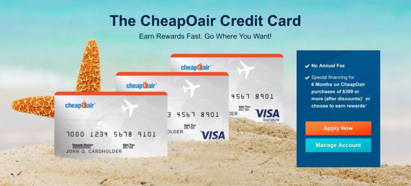 Image result for The CheapOair Credit Card