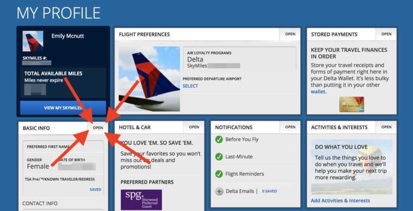 Tip Update Your Frequent Flyer Accounts With Your Ktn