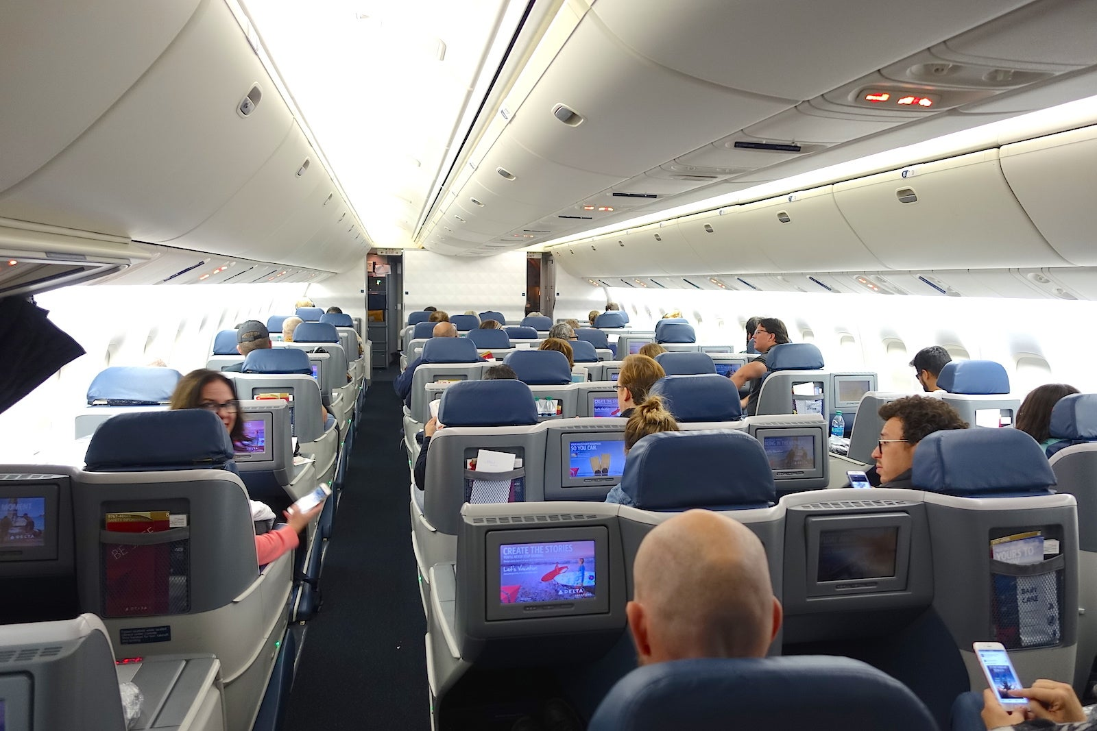 Review: Delta (767-400ER) Business Cl, Atlanta to Lima