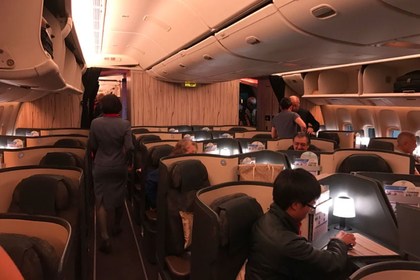 Business Cl Is Arranged In A 1 2 Configuration Premium Economy 4 And 3 Arrangement The Latter Fit