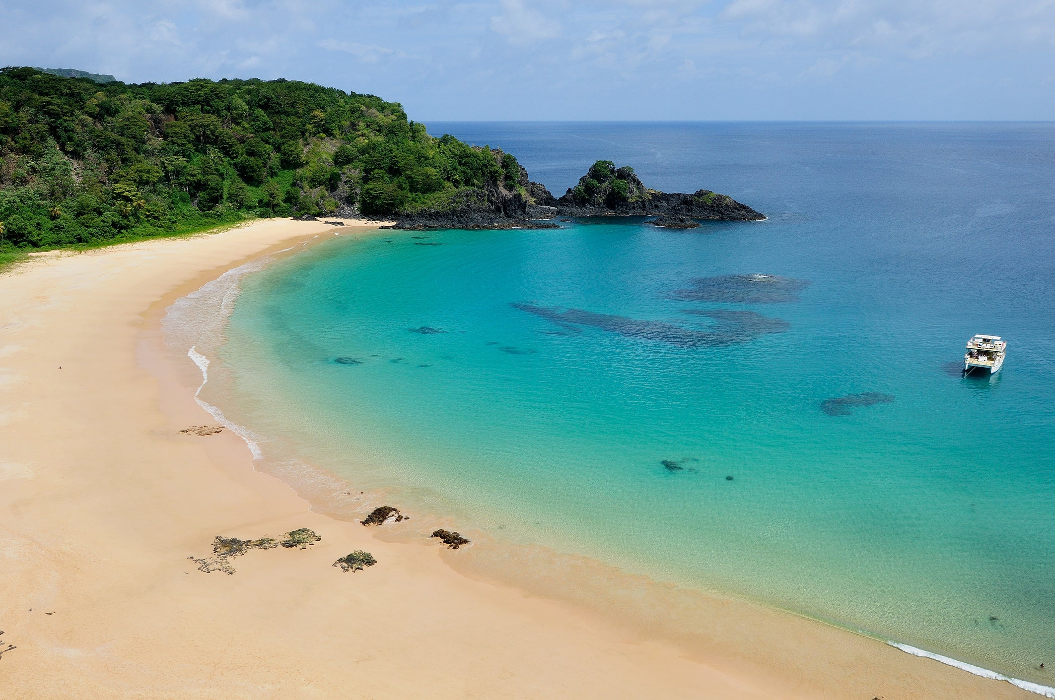 Baía Do Sancho Was Ranked By Tripadvisor As The Best Beach In World