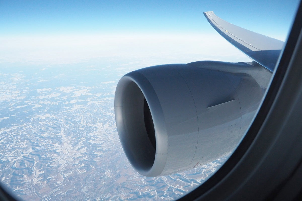 Economy Plus Seats Offer A Great View Of The Wing And Engine But They Arent As Quiet Located At Front Plane