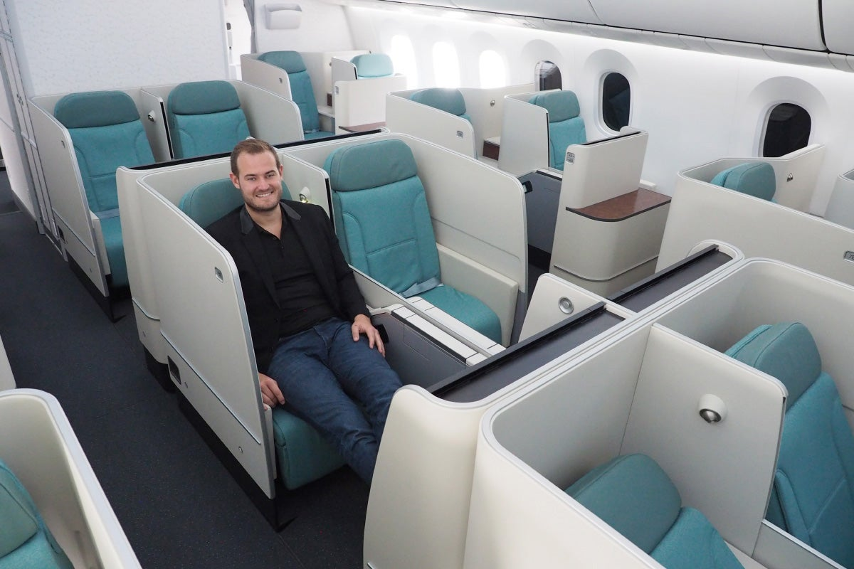 Where To Sit When Flying Korean Air S 787 9 Business Class