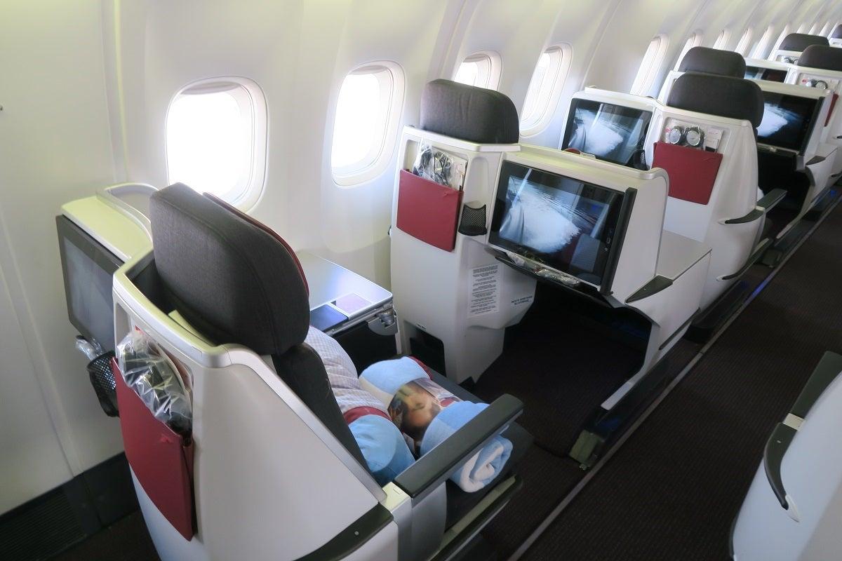 Review Austrian 767 300 Business Class Vienna To Jfk
