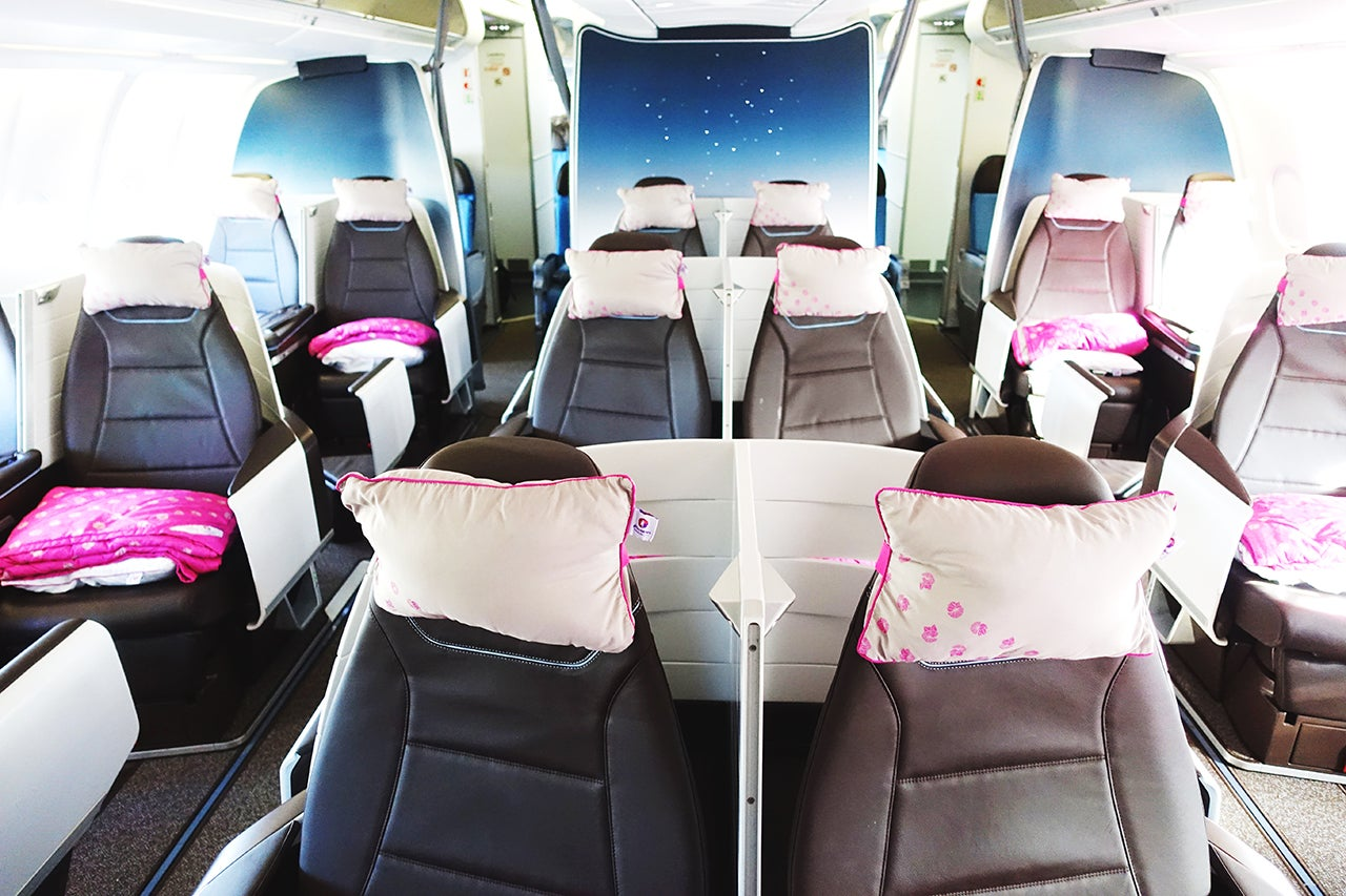 You can get a first-class award in Hawaiian, but with varying prices it can cost many miles.  (Photo by Nick Ellis / The Points Guy)
