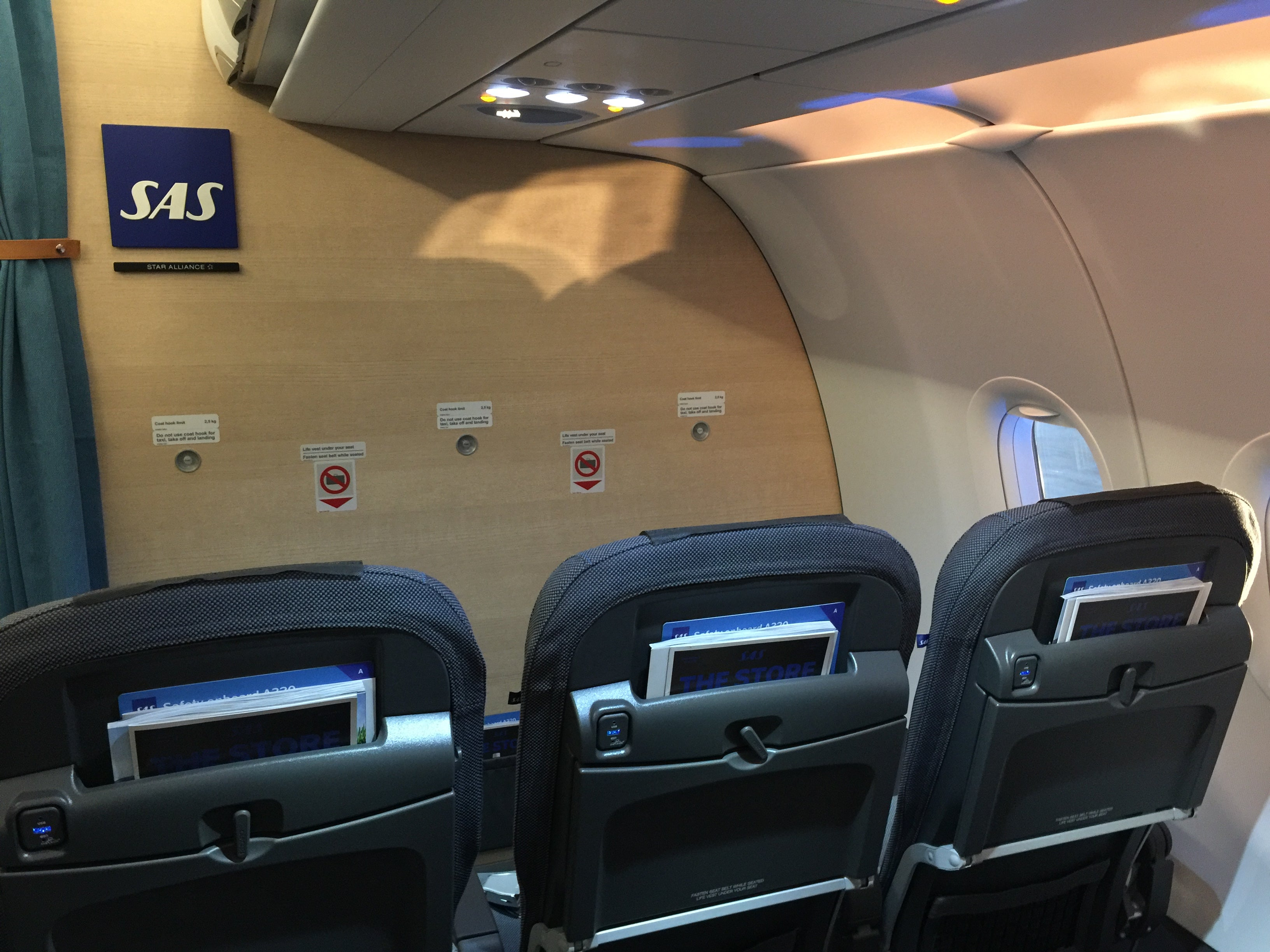 A Look Inside Scandinavian Airlines Airbus A320neo
