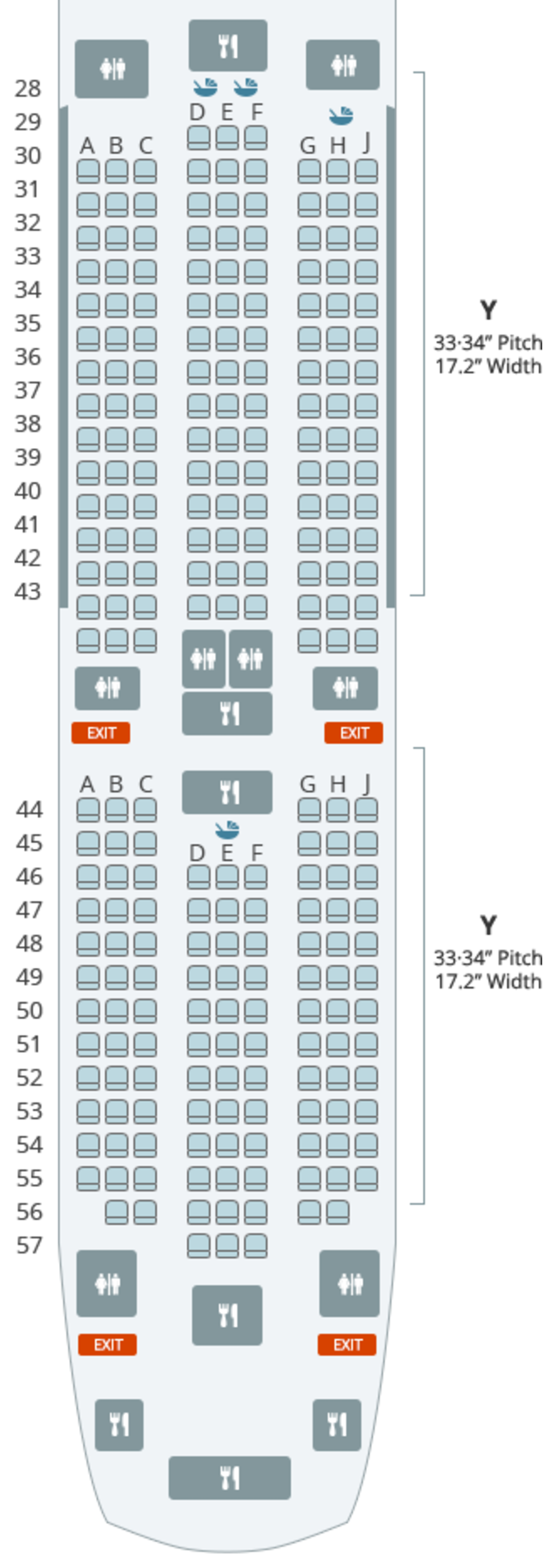Where to Sit When Flying Korean Air\'s 787-9: Economy