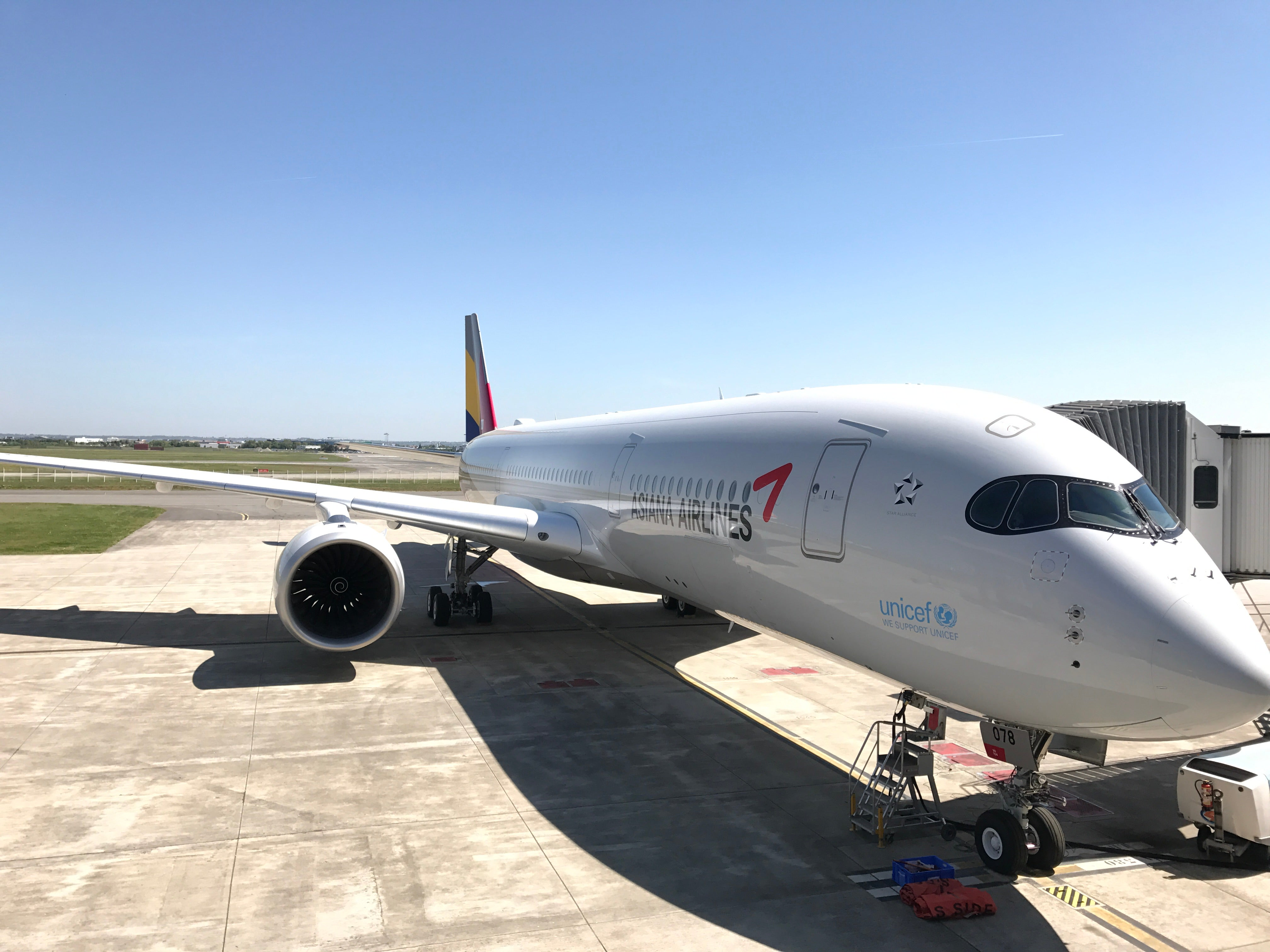 A Look Inside Asiana Airlines\' First Airbus A350