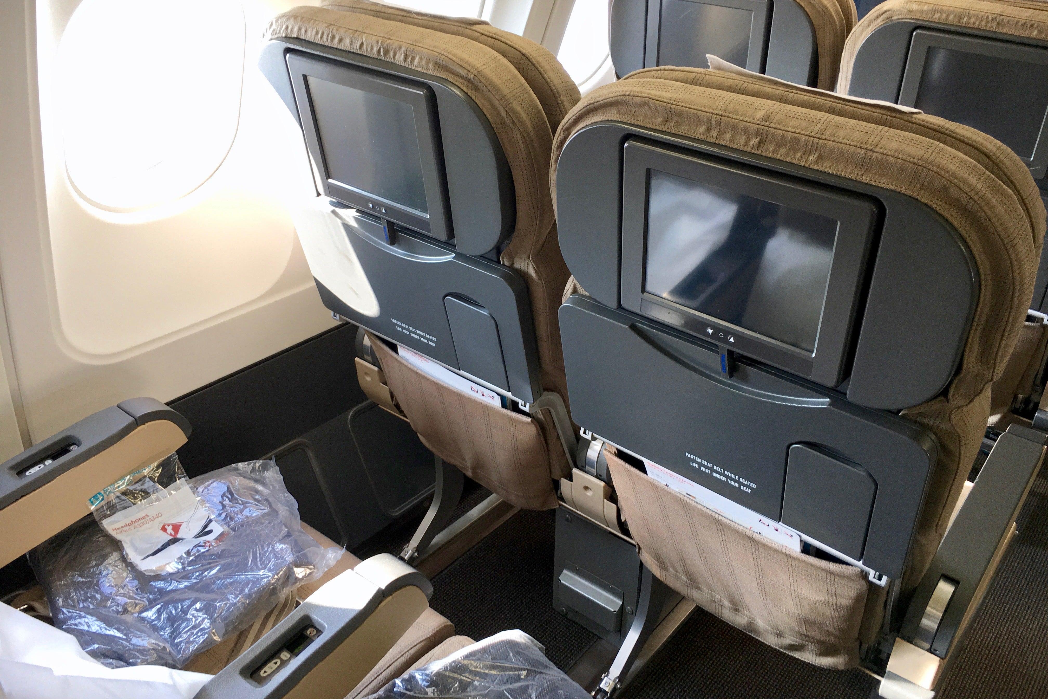 Flight Review Swiss A340 300 Economy Zurich To Boston