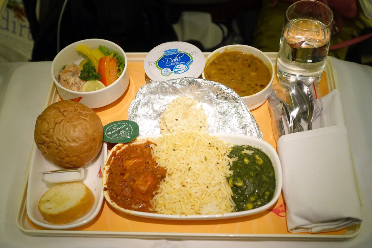 20 things i hated about my air india flight to new york air india 777 300er biz post forumfinder Images