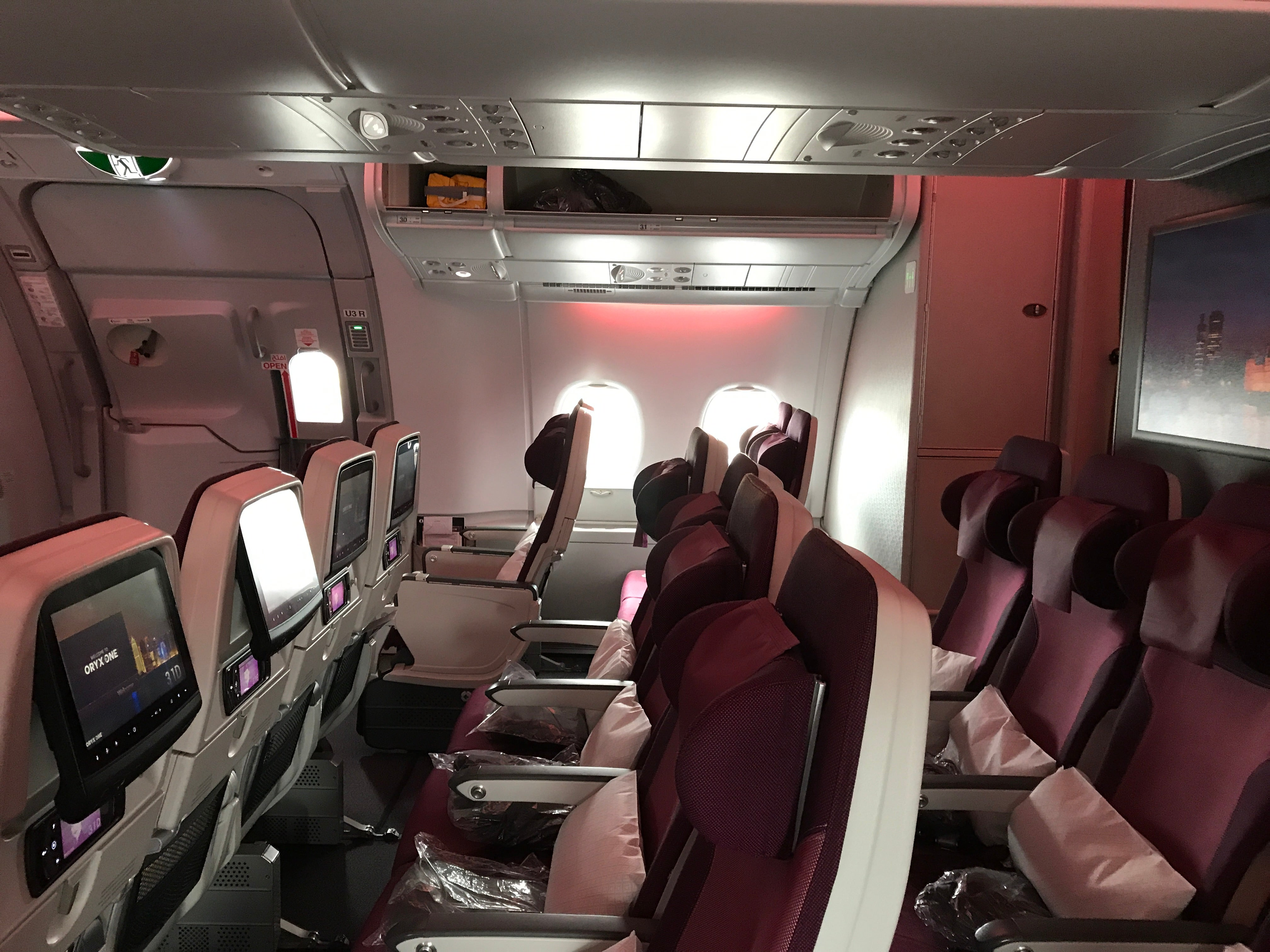 Flight Review Qatar A380 Economy From London To Doha