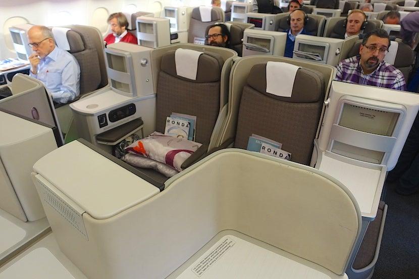 Iberia Middle Seats