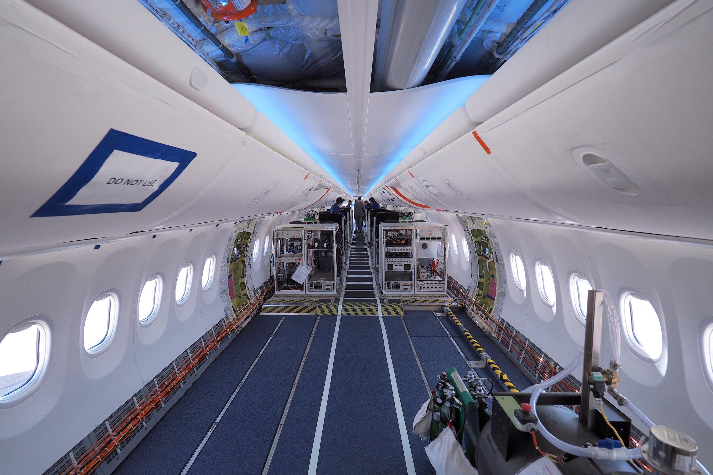 air canada 737 max 8 interior