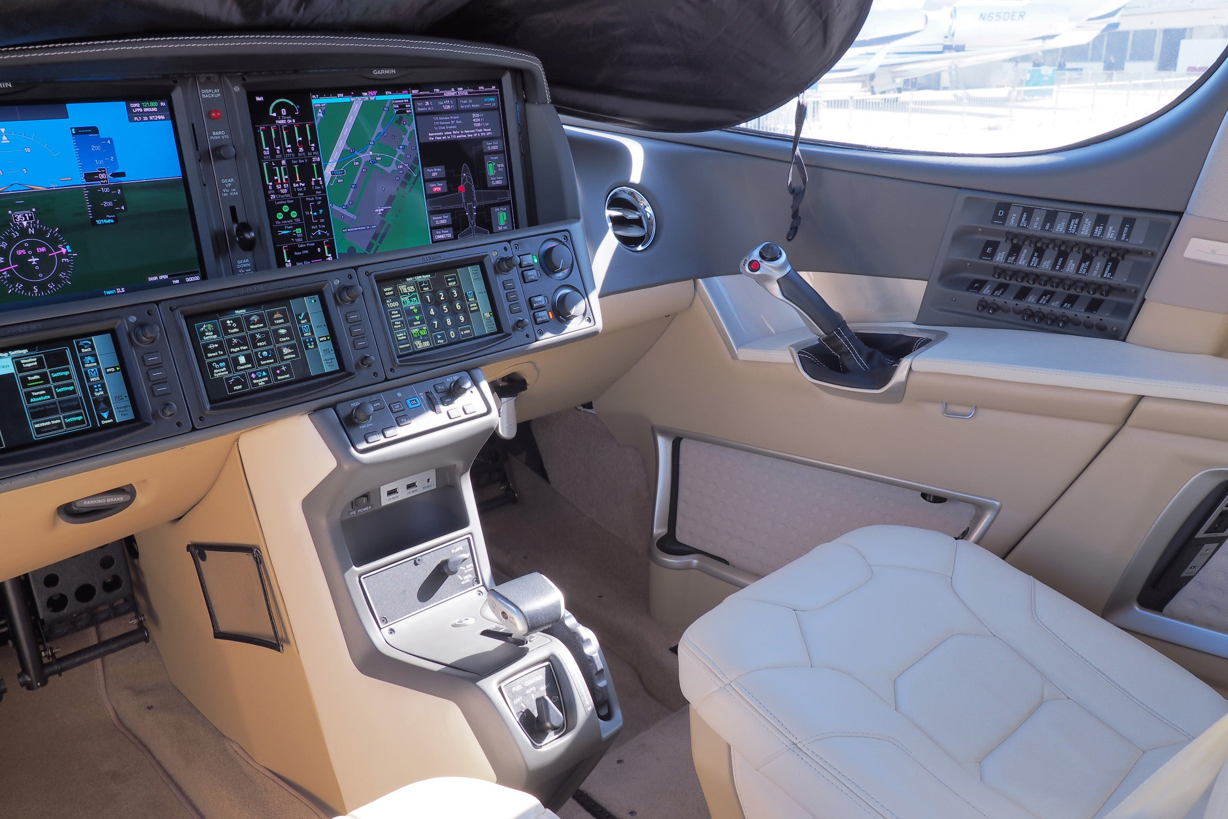 Vision Jet controls