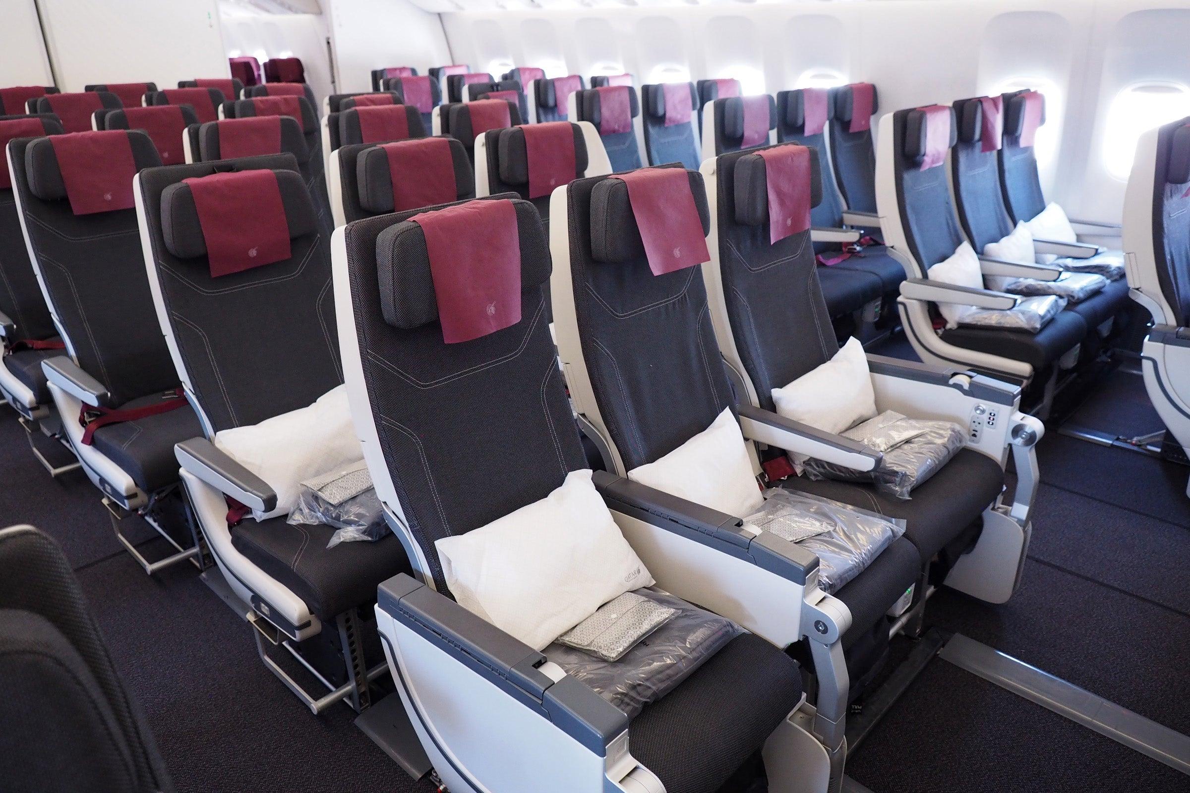Qatar 777-300 business class