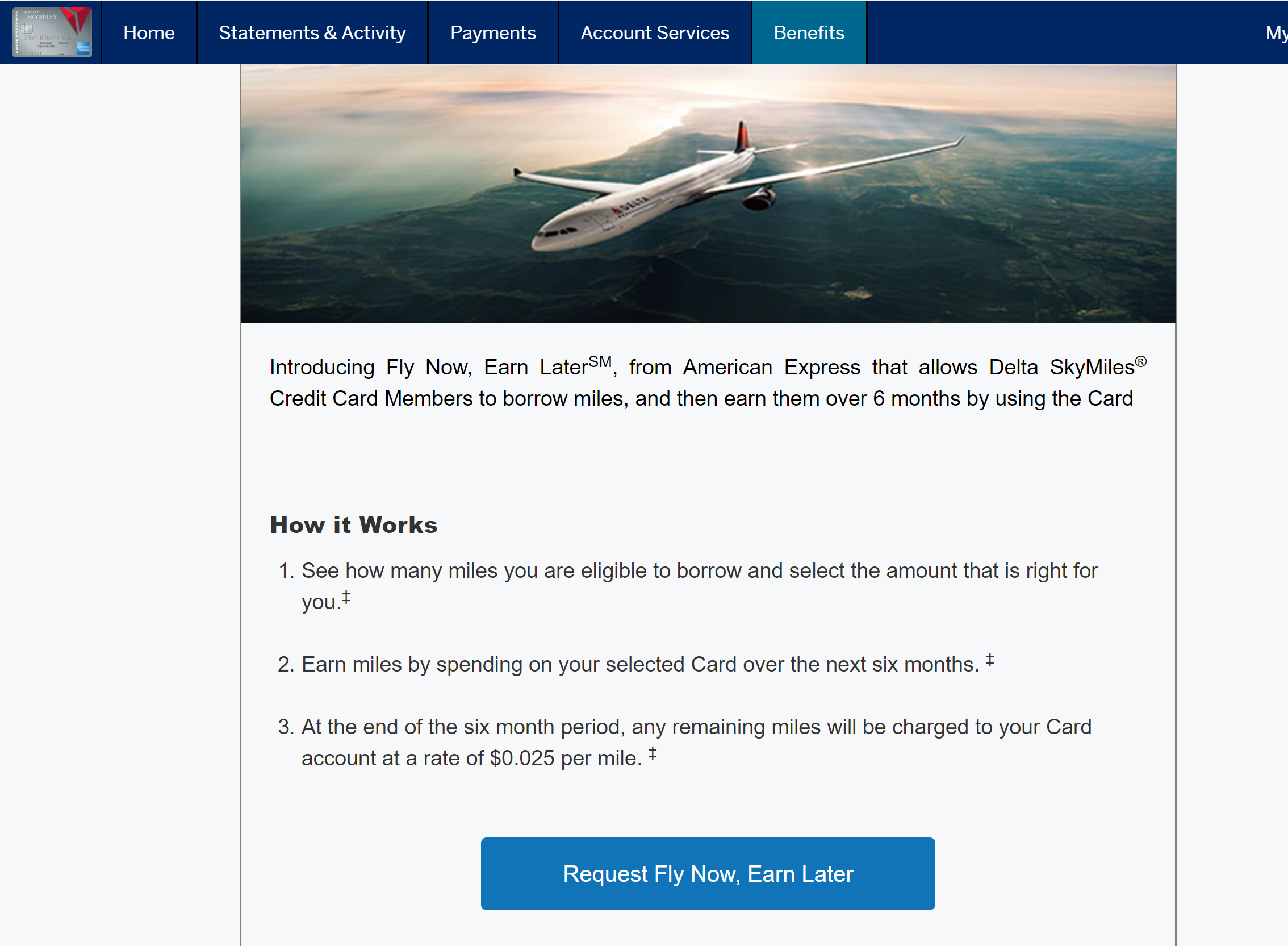 Amex Allows Delta Co-Branded Cardholders to Borrow Miles