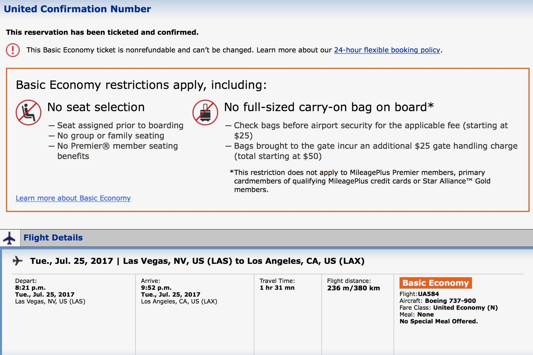 100 United Baggage Policy For International Flights
