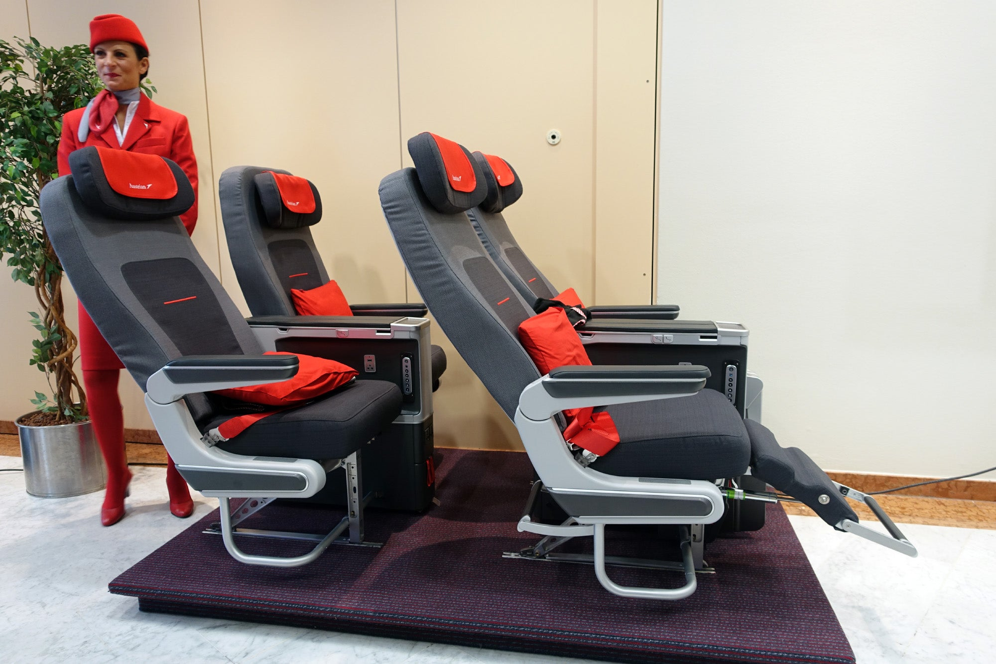 Check Out Austrian Airlines New Premium Economy Seat